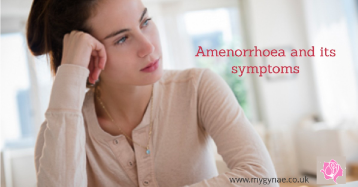 What is Amenorrhoea What are its symptoms