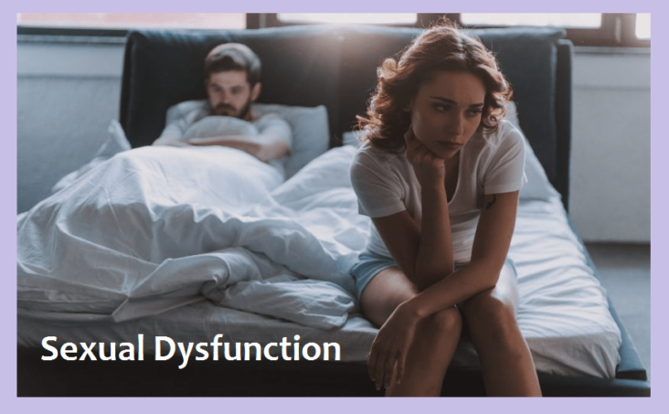 Sexual Dysfunction - Types, Causes, Symptoms and Treatment